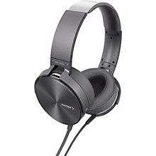 Sony MDRXB950AP/H Extra Bass Headphones With Mic/Remote Gray
