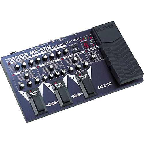 Boss ME-50B Bass Multiple Effects with COSM-thumbnail