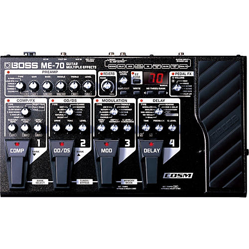 Boss ME-70 Guitar Multi-Effects Pedal