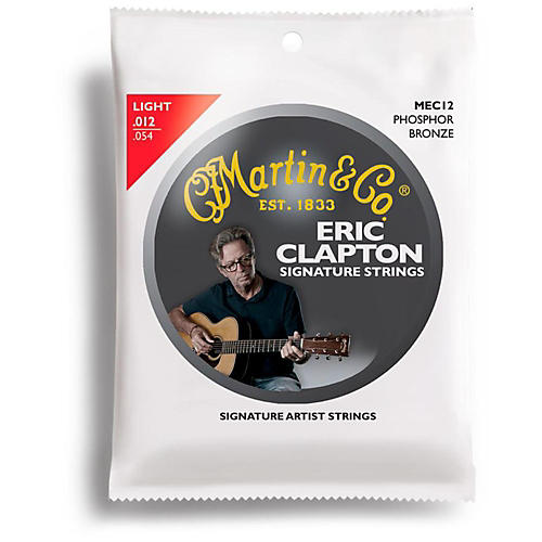 Martin MEC12 Clapton's Choice Phosphor Bronze Light