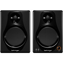 Behringer MEDIA 40USB High-Resolution,150-Watt Bi-Amped Digital Monitor Speakers with USB Input