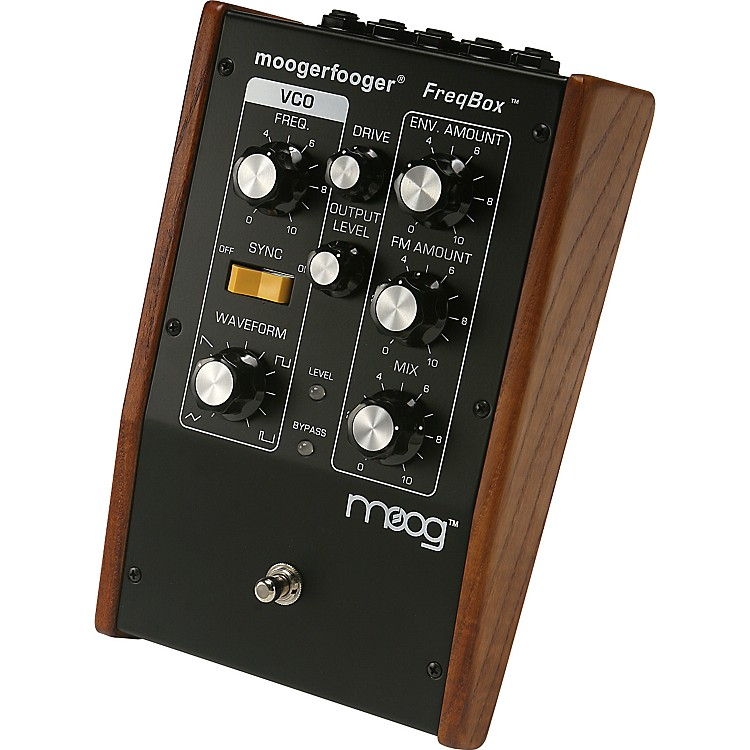 MoogMF-107 moogerfooger FreqBox Effects Pedal