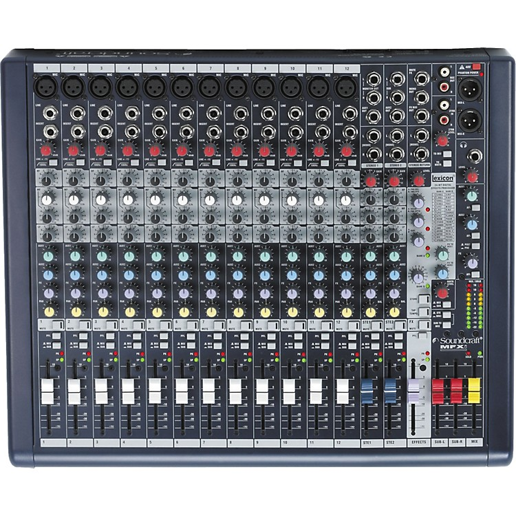 SoundcraftMFXi 12 Mixer
