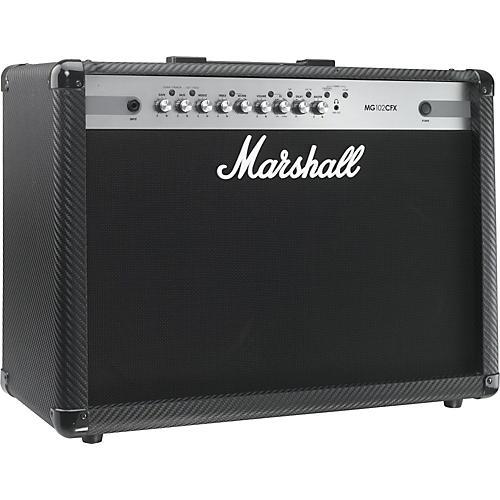 Marshall MG Series MG102CFX 100W 2x12 Guitar Combo Amp Carbon Fiber