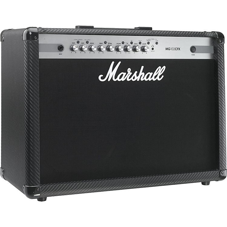 MarshallMG Series MG102CFX 100W 2x12 Guitar Combo AmpCarbon Fiber
