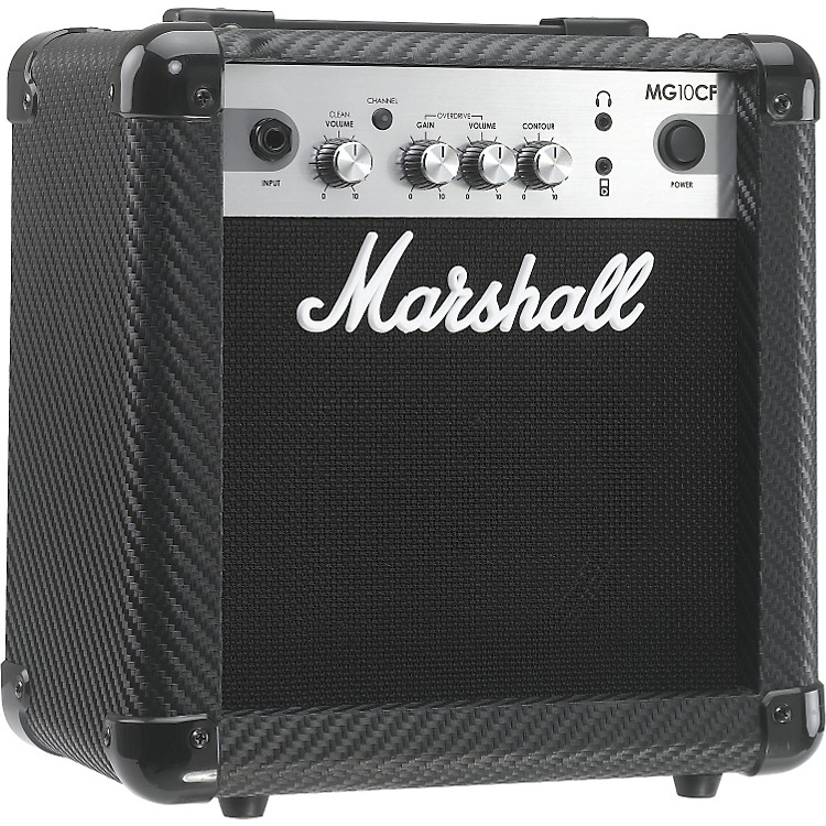 MarshallMG Series MG10CF 10W 1x6.5 Guitar Combo AmpCarbon Fiber