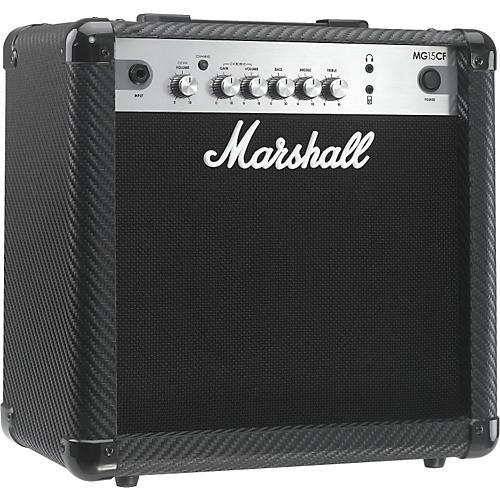 Marshall MG Series MG15CF 15W 1x8 Guitar Combo Amp Carbon Fiber