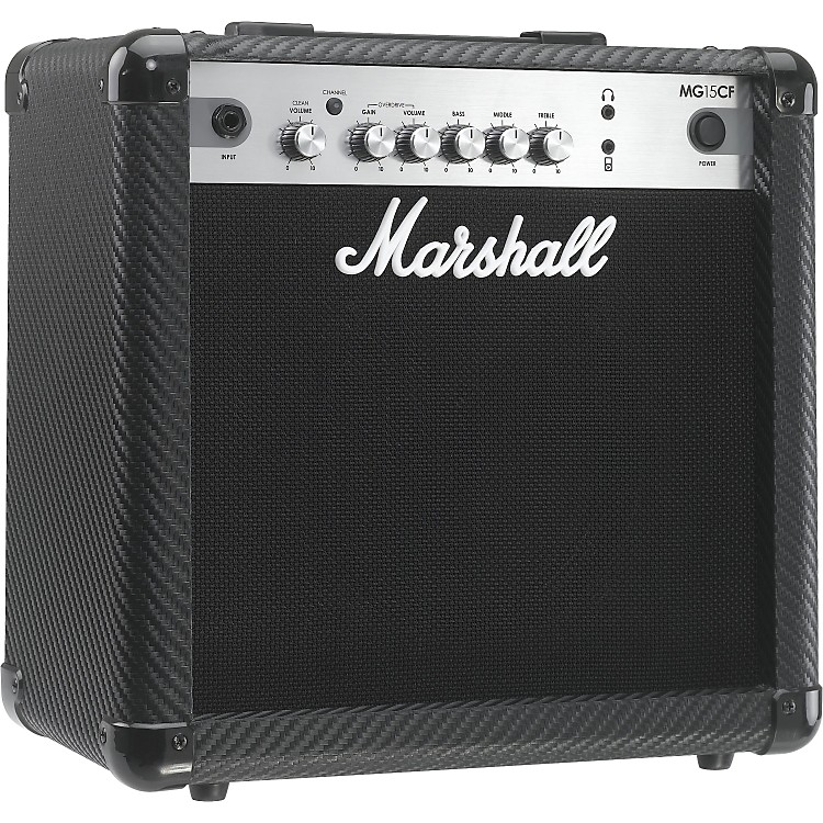 MarshallMG Series MG15CF 15W 1x8 Guitar Combo AmpCarbon Fiber