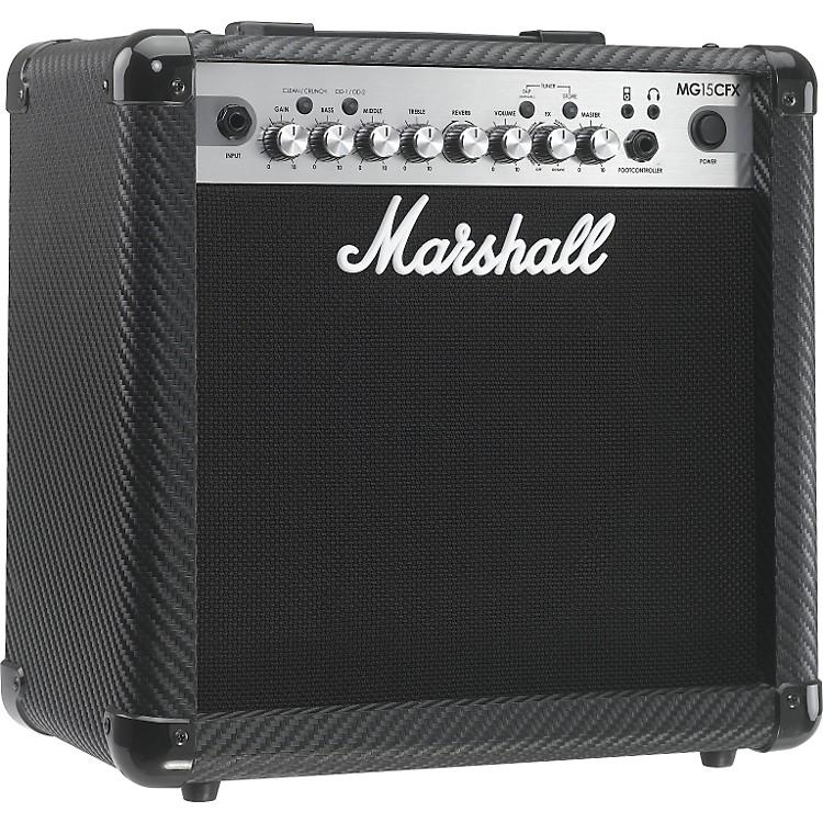 MarshallMG Series MG15CFX 15W 1x8 Guitar Combo AmpCarbon Fiber