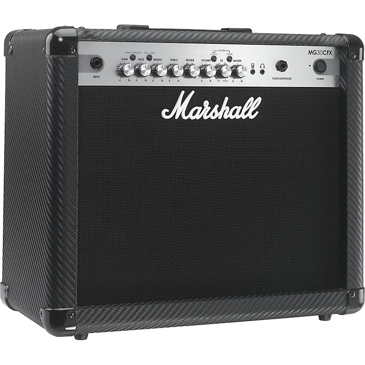 marshall mg series mg30cfx 30w 1x10 guitar combo amp carbon fiber musician 39 s friend. Black Bedroom Furniture Sets. Home Design Ideas