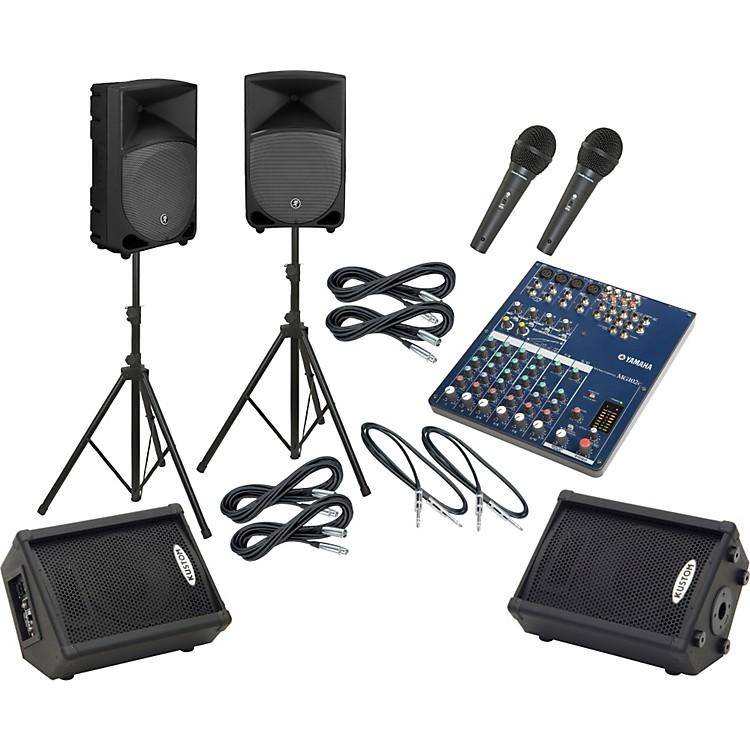 YamahaMG102C / TH-12A Mains & Monitors Package