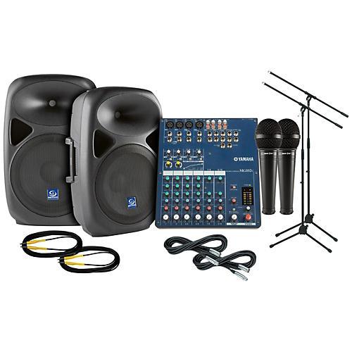 Yamaha MG102C Gem Sound PXB120 PA Package