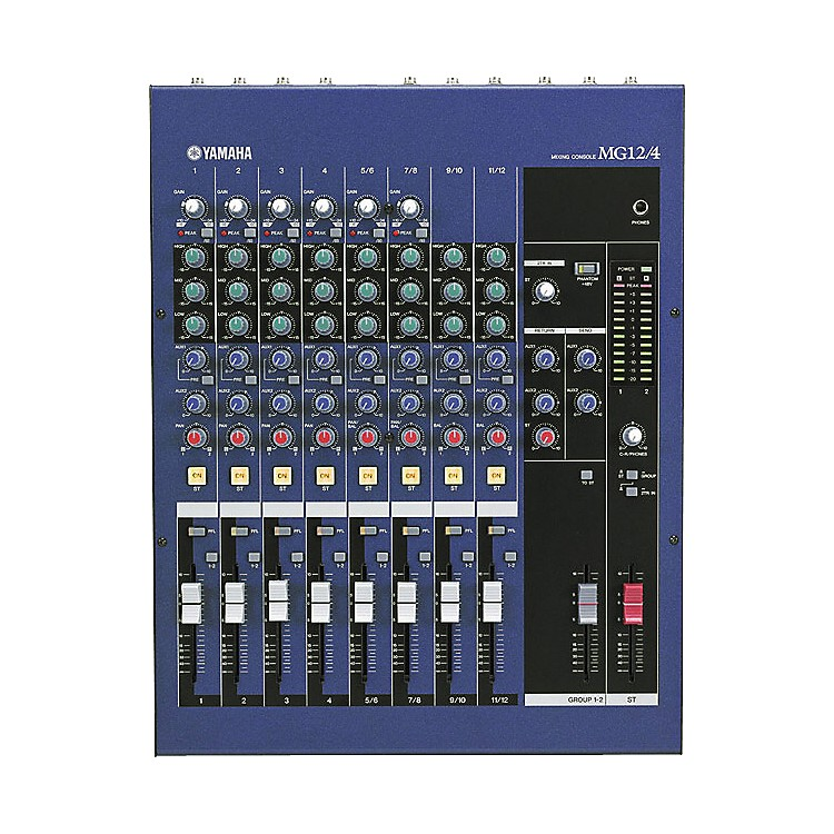 YamahaMG12/4 12-Input 4 Bus Mixer