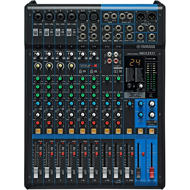 YamahaMG12XU 12-Channel Mixer with Effects