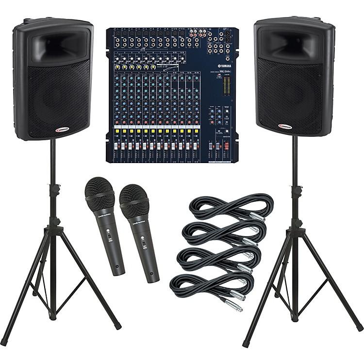 YamahaMG166C / Harbinger APS15 PA Package