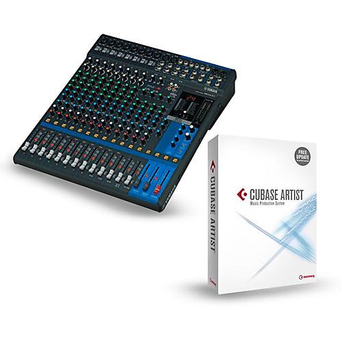 Yamaha MG16XU 16-Channel Mixer With Cubase Artist-thumbnail