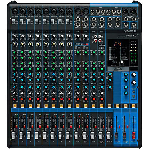 yamaha mg16xu 16 channel mixer musician 39 s friend