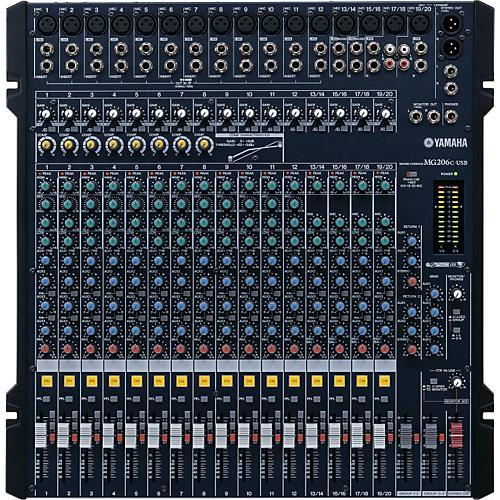 Yamaha MG206C-USB Mixer