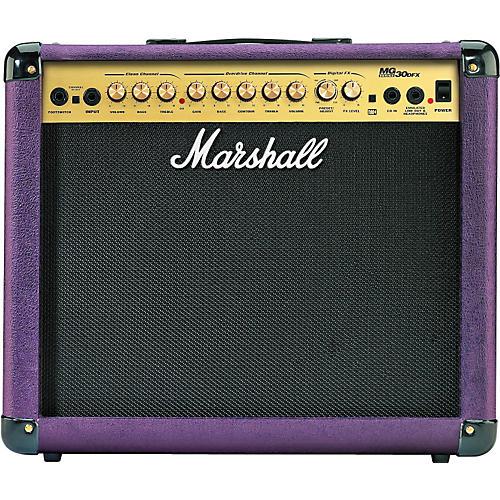 Marshall MG30DFX 30W 1x10 Guitar Purple Combo Amp