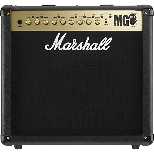 marshall mg4 series mg50fx 50w 1x12 guitar combo amp musician 39 s friend. Black Bedroom Furniture Sets. Home Design Ideas