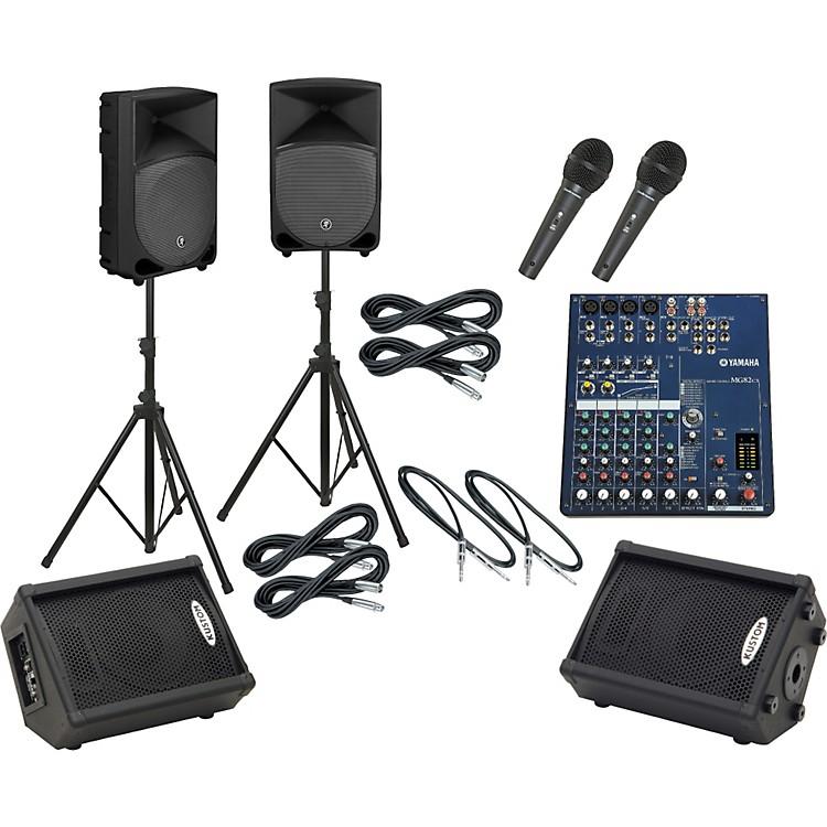 YamahaMG82CX / TH-12A Mains & Monitors Package