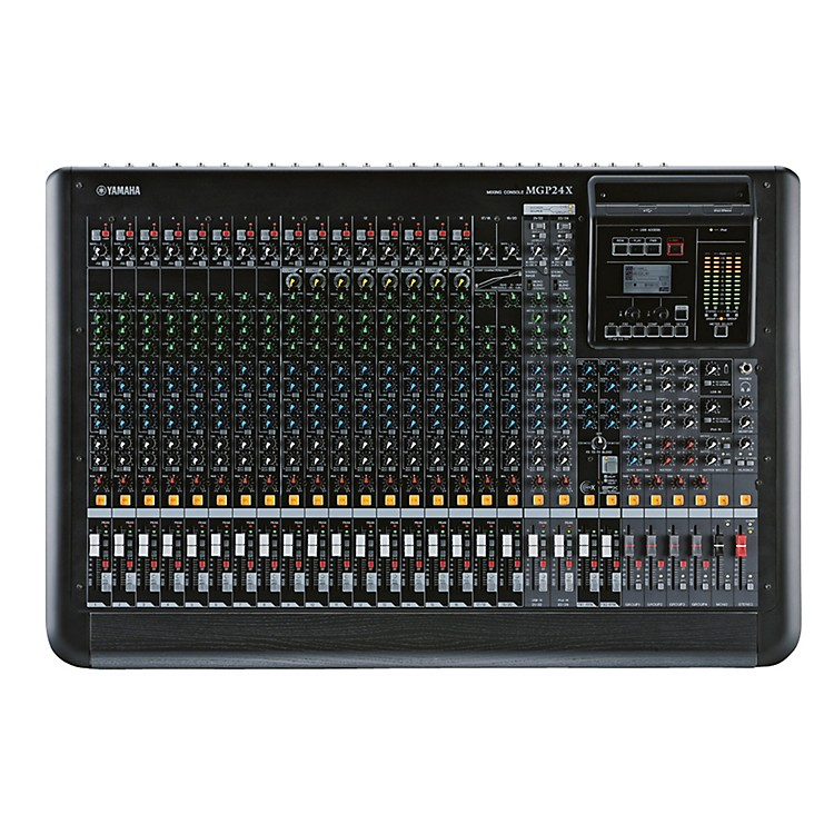 Yamaha MGP24X 24-Input Hybrid Digital/Analog Mixer with USB Rec/Play and Effects