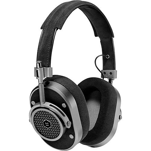 Master & Dynamic MH40 Over Ear Headphone, Brown/Silver Gunmetal/Alcantara