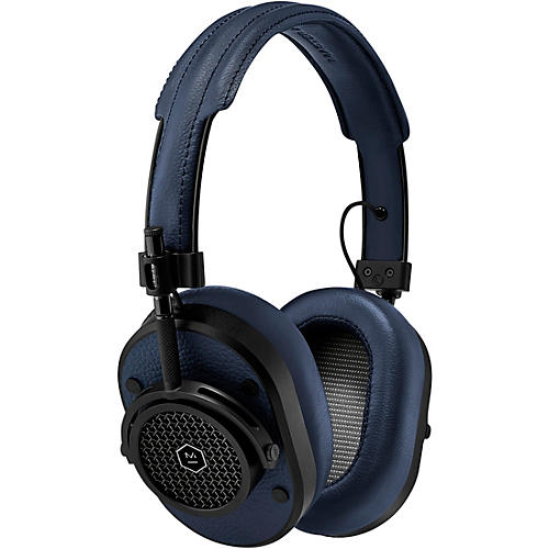 Master & Dynamic MH40 Over Ear Headphone, Brown/Silver Navy/Black