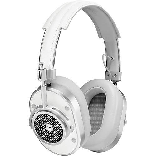Master & Dynamic MH40 Over Ear Headphone, Brown/Silver White/Silver