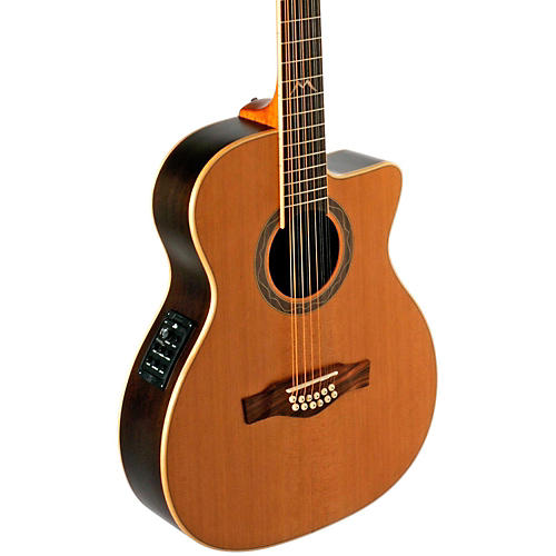 EKO MIA Series 12-String Auditorium Acoustic-Electric Guitar-thumbnail