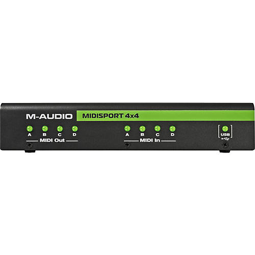 M-Audio MIDIsport 4x4 Anniversary Edition USB MIDI Interface