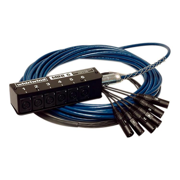 WhirlwindMINI-6 Low Profile Audio Drop Snake 6x650 Feet