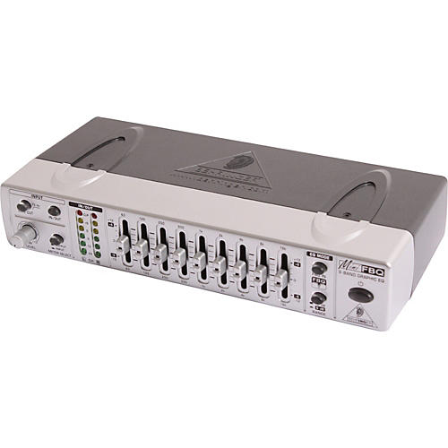 Behringer MINIFBQ FBQ800 9-Band Graphic Equalizer with FBQ-thumbnail