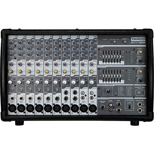 Tapco MIX10FXP 1000W Powered Mixer