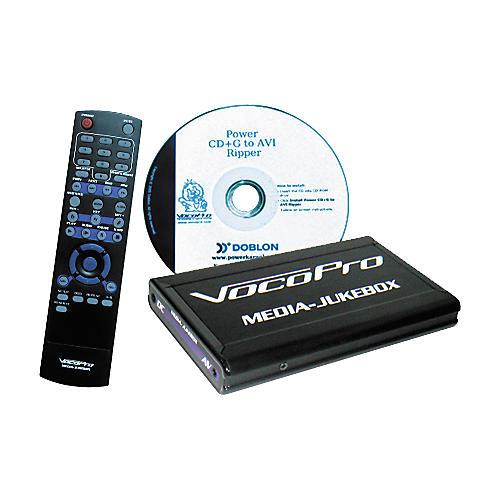 VocoPro MJ-Pro Media Jukebox Pro Media Player 40GB Hard Drive with Remote