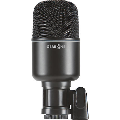 Gear One MK1000 Kick Drum Mic Black