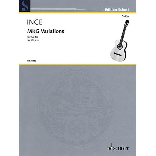 Schott MKG Variations (for Guitar) Guitar Series Softcover-thumbnail