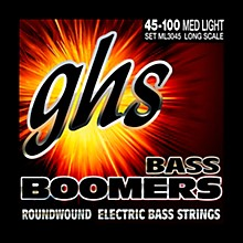 GHS ML3045 Boomers Medium Light Electric Bass Strings