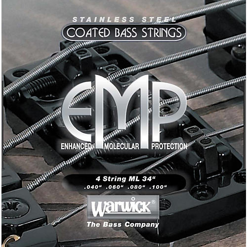 Warwick ML4 EMP COATED Bass Strings Medium Light