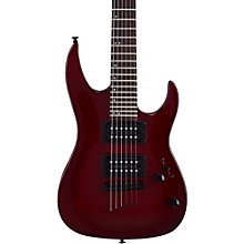 Mitchell MM100 Mini Double Cutaway Electric Guitar Blood Red