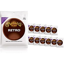 Martin MM11 Retro Series Custom Light 12-Pack Acoustic Guitar Strings