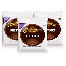 Martin MM11 Retro Series Custom Light Acoustic Guitar Strings (3 Pack)
