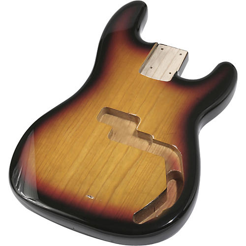 Mighty Mite MM2702 P-Bass Replacement Body - Burst Finish