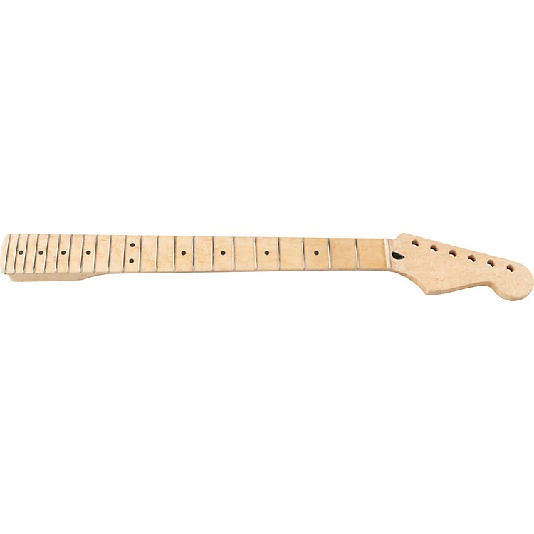 Mighty MiteMM2903 Bird's Eye Maple Stratocaster Replacement Neck with Maple Fingerboard