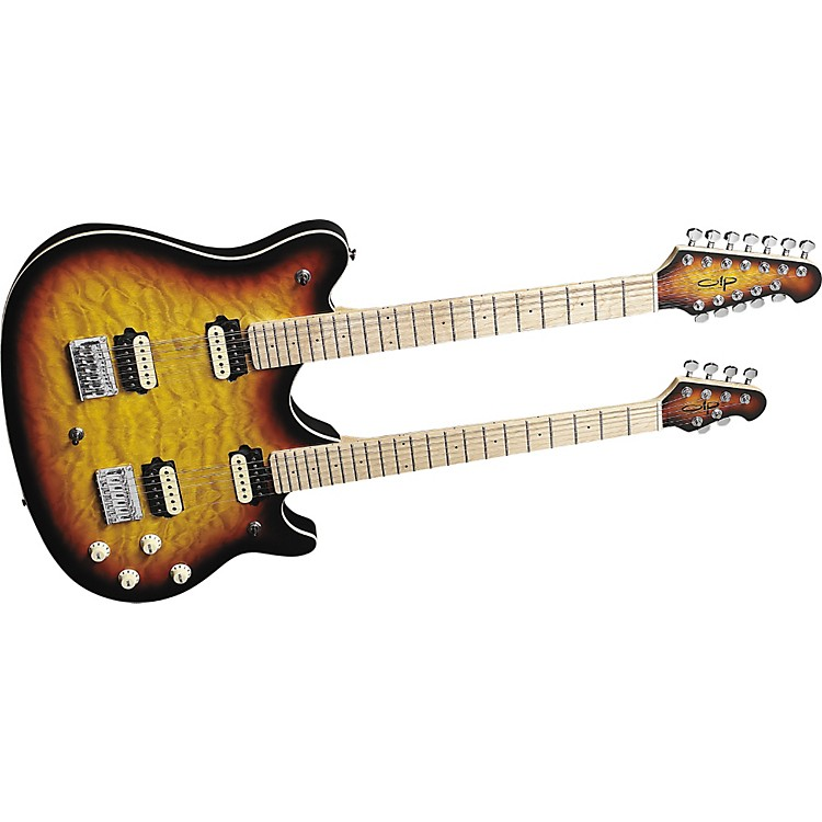OLPMM612 Double Neck Electric Guitar