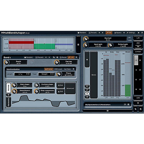 MeldaProduction MMultiBandAutopan Software Download