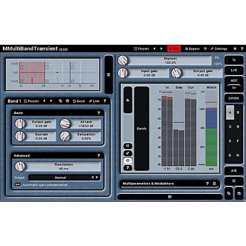 Melda Production MMultiBandTransient Software Download