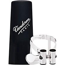 Vandoren M|O Ligature and Plastic Cap for Alto Saxophone - Pink Gold