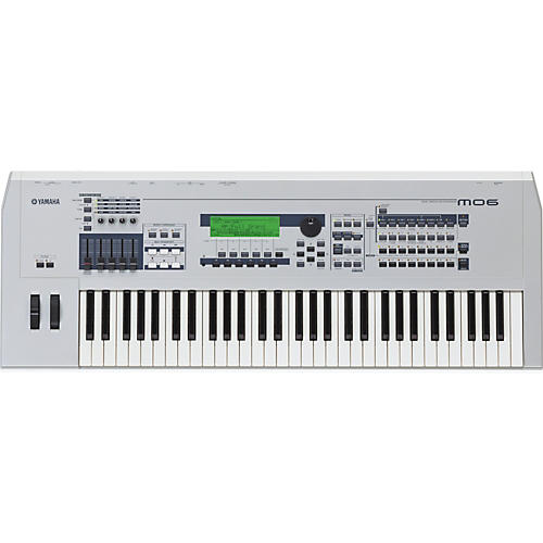 Yamaha MO6 61-Key Music Production Synthesizer Workstation with DAW Control