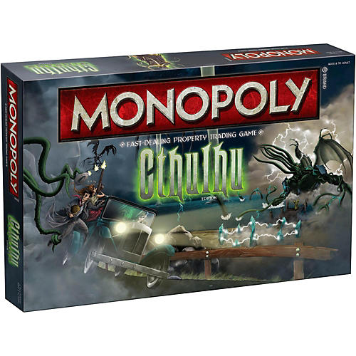USAOPOLY MONOPOLY: CTHULHU